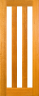 DG097S Glazed Timber Entrance Door