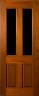 DG014 Glazed Timber Entrance Door