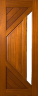 DG063 Glazed Timber Entrance Door