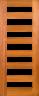 DG070S Glazed Timber Entrance Door