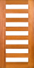 DG070S 1020mm Glazed Timber Door