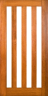 DG404S 1020 Glazed Timber Door