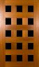 DGP15S Glazed Timber Pivot Door.