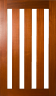 DGP404S Glazed Timber Entrance Door