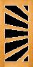 DG060S 1020 Glazed Timber Entrance Door