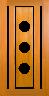 DG061SFP 1020 Glazed Timber Entrance Door