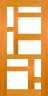 DG095S 1020 Glazed Timber Entrance Door