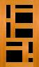 DGP095S Glazed Timber Entrance Door