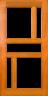 DG099S 1020 Glazed Timber Entrance Door