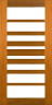 DG108S Glazed Timber Entrance Door