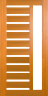 DG218S 1020 Glazed Timber Entrance Door