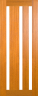 DG308S Glazed Timber Entrance Door
