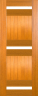 DG310 Glazed Timber Entrance Door