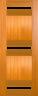 DG310 Glazed Timber Entrance Door