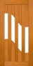 DG311S 1020 Glazed Timber Entrance Door