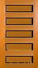 DGP057SFP Glazed Timber Entrance Door