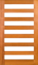 DGP070S Glazed Timber Entrance Door