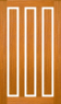 DGP097SFP Glazed Timber Entrance Door