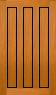 DGP097SFP Glazed Timber Entrance Door