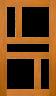 DGP099S Glazed Timber  Entrance Door
