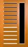 DGP218S Glazed Timber Entrance Door