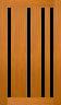 DGP308S Glazed Timber Entrance Door