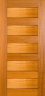 DS057S 1020 Solid Timber Entrance Door
